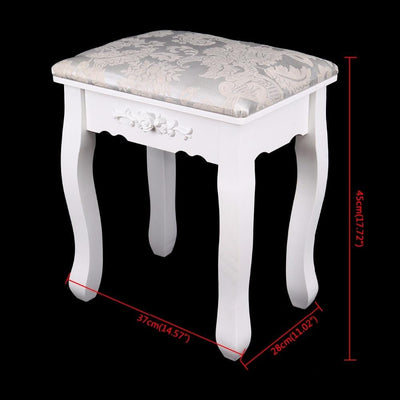 tabouret coiffeuse ancienne