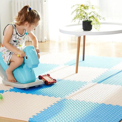tapis puzzle mousse bebe fille