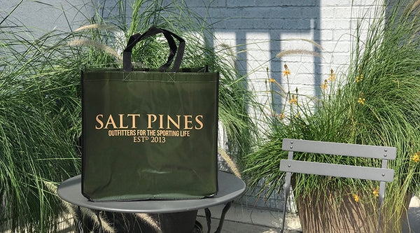 Salt Pines Reusable Shopping Bag