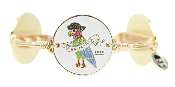 Bourbon and Boweties Gasparilla 2020 Bangle | Gold