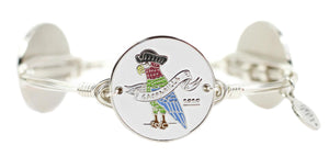 Bourbon and Boweties Gasparilla 2020 Bangle | Silver