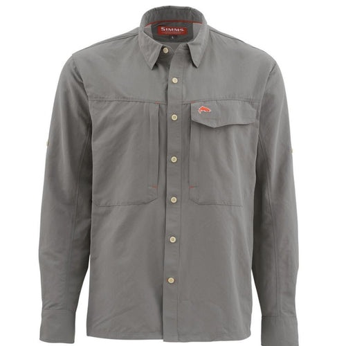 Simms Guide Shirt Pewter
