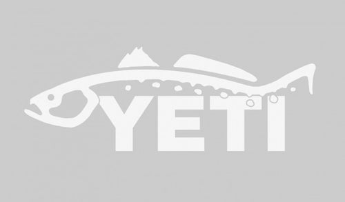 YETI Sportsman's Decal - Trout 1