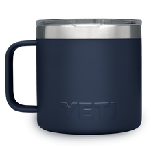 Load image into Gallery viewer, Yeti Rambler 14 oz Mug Navy 2