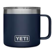 Load image into Gallery viewer, Yeti Rambler 14 oz Mug Navy 1