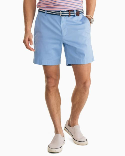 Southern Tide Channel Marker 7 Inch Short Hurricane Blue 1