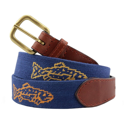 Catch Of The Day Needle Point Belt by Smathers and Branson