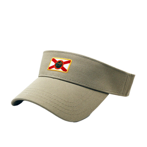 Florida Flag Visor