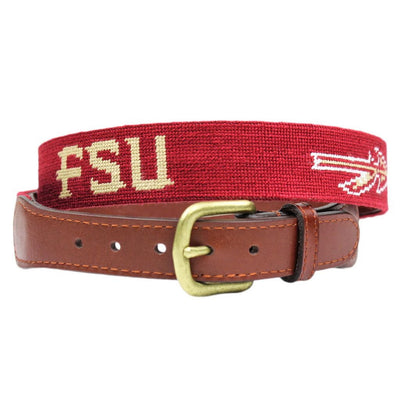 Collegiate (FSU) Needlepoint Belt