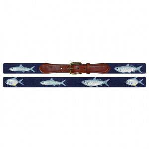 Smathers and Branson Grand Slam Needlepoint Belt Navy 2