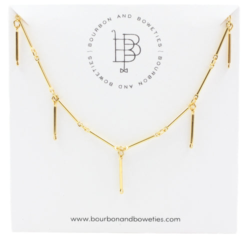 Bourbon and Boweties Cassie Necklace