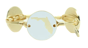 Bourbon and Boweties Florida Coin Bangle