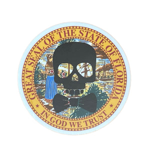 Proper Roger Florida Seal Sticker