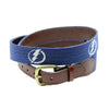 Smathers and Branson Tampa Bay Lightning NHL Needlepoint Belt