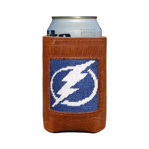 Smathers and Branson Tampa Bay Lightning Needlepoint Can Cooler 1