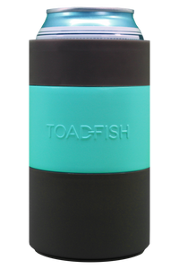 Toadfish Can Cooler Teal 2