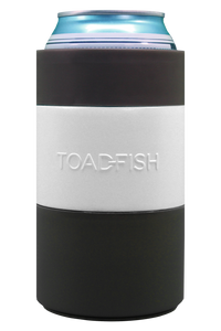 Toadfish Can Cooler White 2