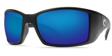Load image into Gallery viewer, Costa Sunglasses Blackfin Matte Black/Blue Mirror 5