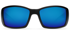 Costa Sunglasses Blackfin Matte Black/Blue Mirror 3