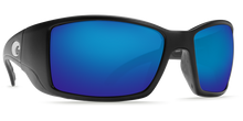 Load image into Gallery viewer, Costa Sunglasses Blackfin Matte Black/Blue Mirror 1