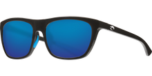 Load image into Gallery viewer, Costa Sunglasses Cheeca Shiny Black/Blue Mirror 3