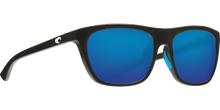 Load image into Gallery viewer, Costa Sunglasses Cheeca Shiny Black/Blue Mirror 1
