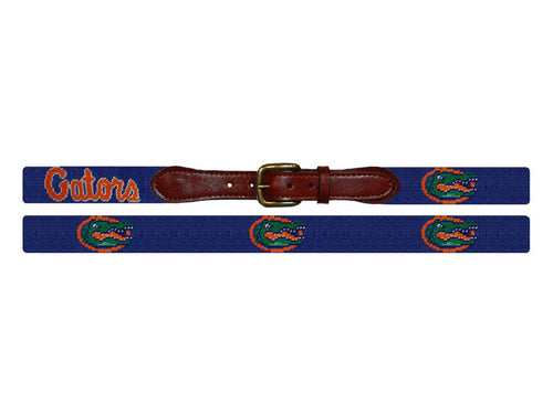 Smathers and Branson University of Florida Needlepoint Belt