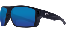 Load image into Gallery viewer, Costa Diego Sunglasses Matte Black/Blue Mirror 5