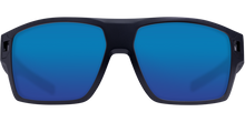 Load image into Gallery viewer, Costa Diego Sunglasses Matte Black/Blue Mirror 3