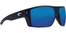Load image into Gallery viewer, Costa Diego Sunglasses Matte Black/Blue Mirror 1