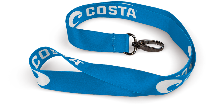 Costa Lanyard Blue/White
