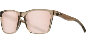 Costa Sunglasses Panga Shiny Taupe/Copper Silver 4