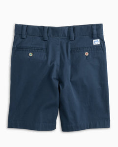 Southern Tide Channel Marker Youth Shorts Dark Denim 3