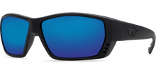 Load image into Gallery viewer, Costa Sunglasses Tuna Alley Blackout/Blue Mirror 4