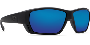 Costa Sunglasses Tuna Alley Blackout/Blue Mirror 1