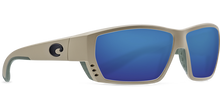 Load image into Gallery viewer, Costa Sunglasses Tuna Alley Sand/Blue Mirror