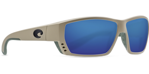Costa Sunglasses Tuna Alley Sand/Blue Mirror