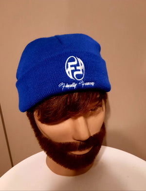 FIMALLY FAMOUS BEENIE ROYAL WHITE
