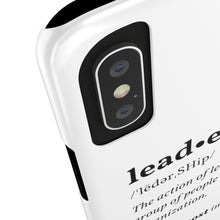 Load image into Gallery viewer, 'Leadership' Defined Slim Phone Case | The Rx Shop