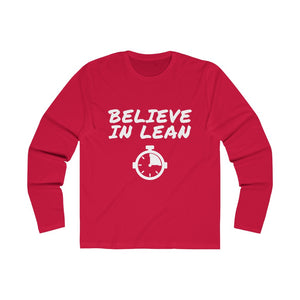 Believe in lean red shirt