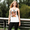 Source002 Women's Loose Racerback Tank Top