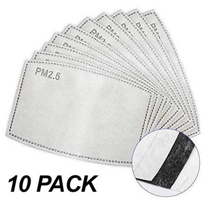 Activated Carbon Filter 10 Pack
