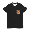 Donuts Sublimation Pocket T-Shirt