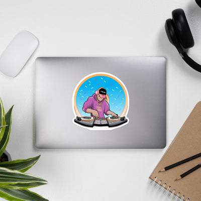 DJ Doughboy Bubble-free stickers