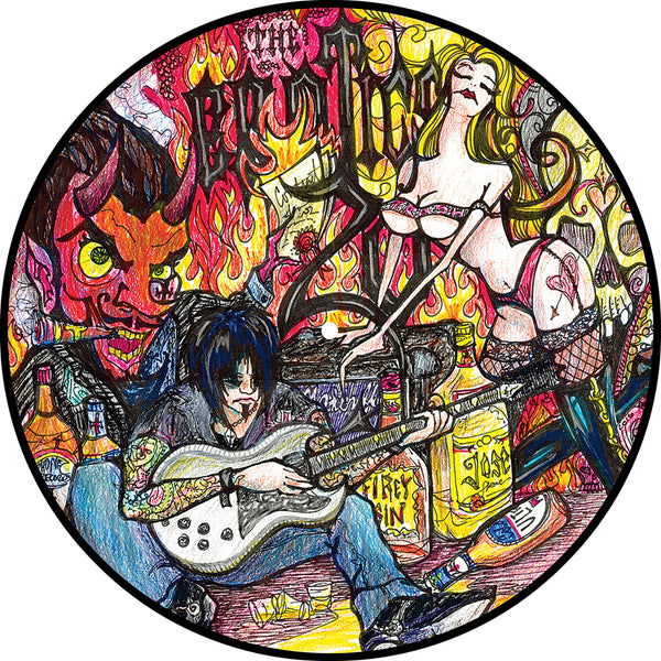 The Erotics - 20 Years of Nothing to Show for It [Best of the Erotics] - Vinyl LP Picture Disc