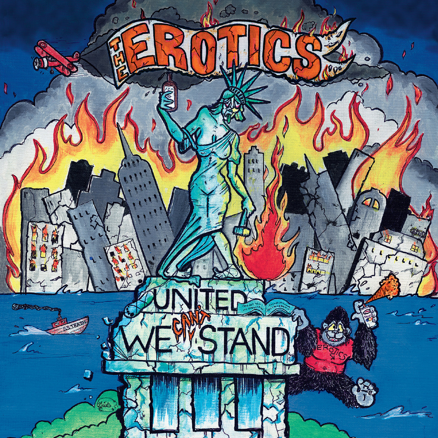 The Erotics - United We Can't Stand - CD