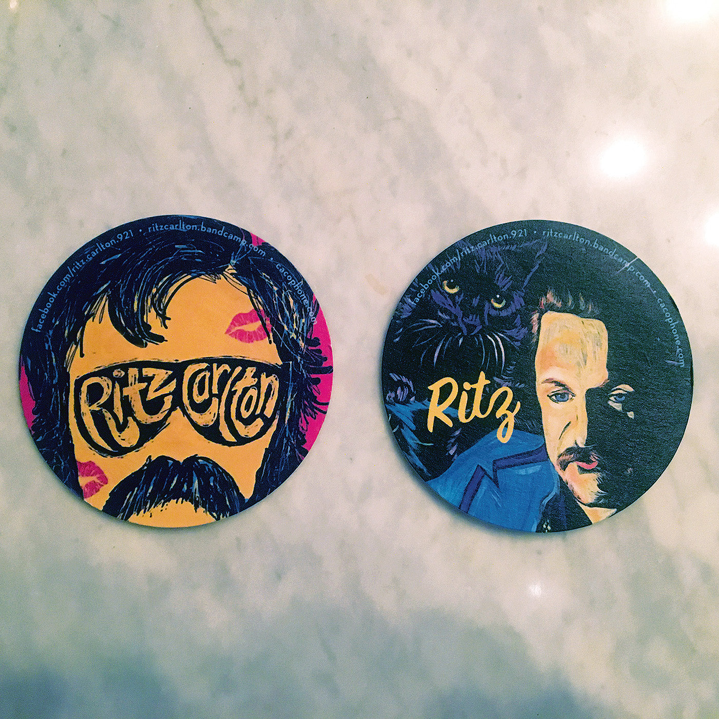Ritz Carlton - Coasters