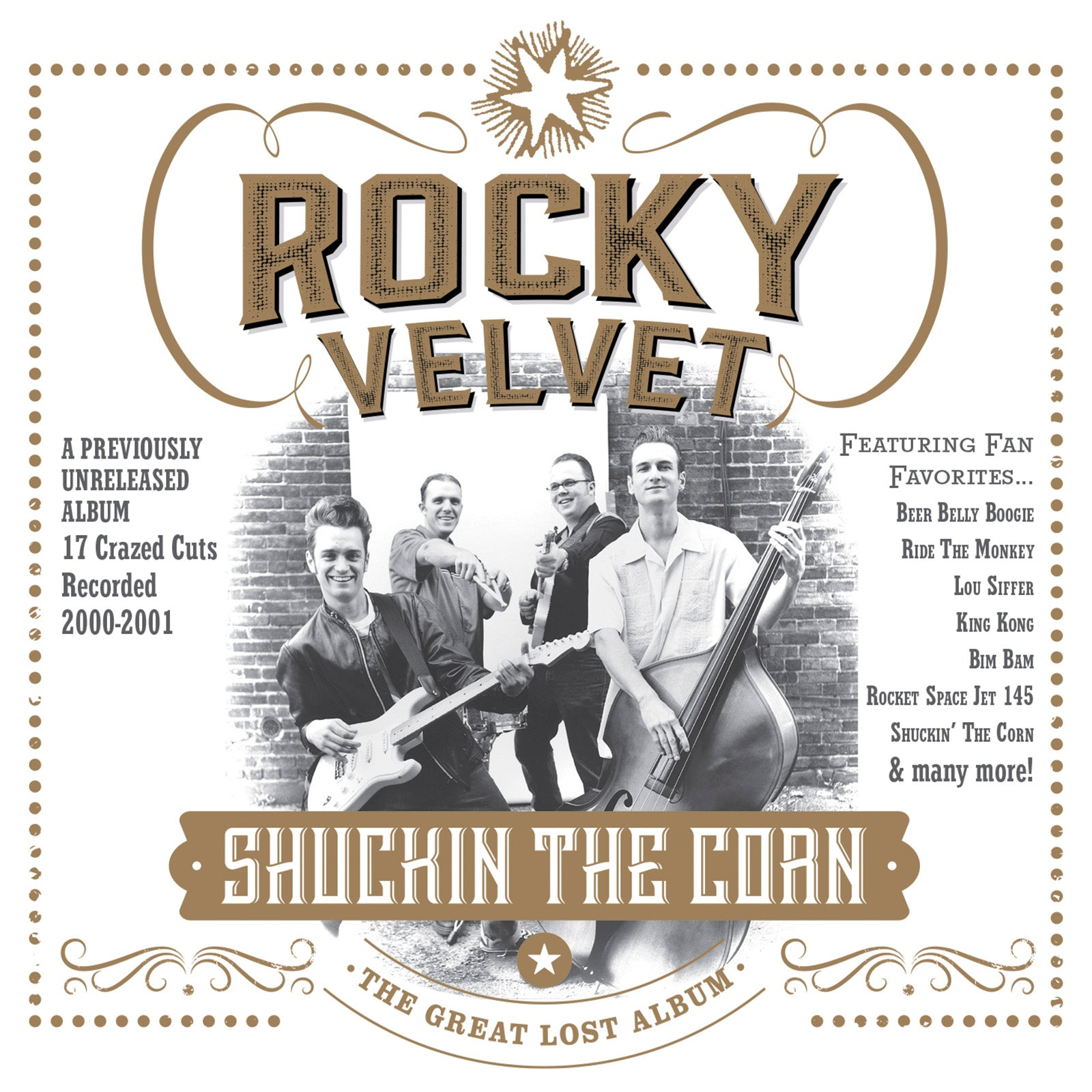 Rocky Velvet - Shuckin' The Corn (The Great Lost Rocky Velvet Album) - CD