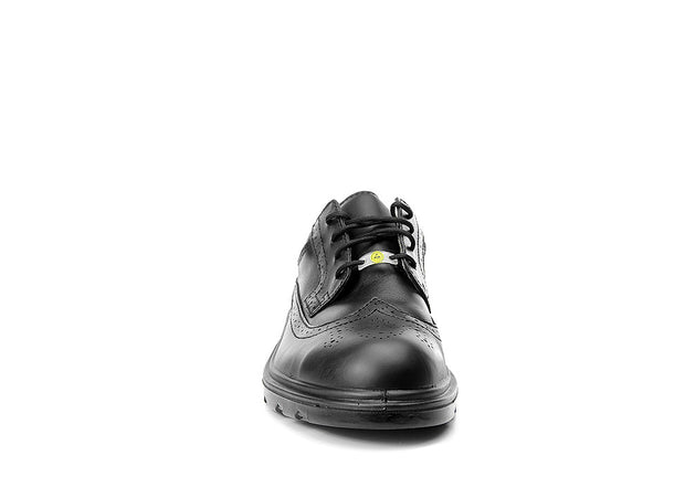 Front view of F71307 Elten OFFICER ESD S2 Safety Shoe