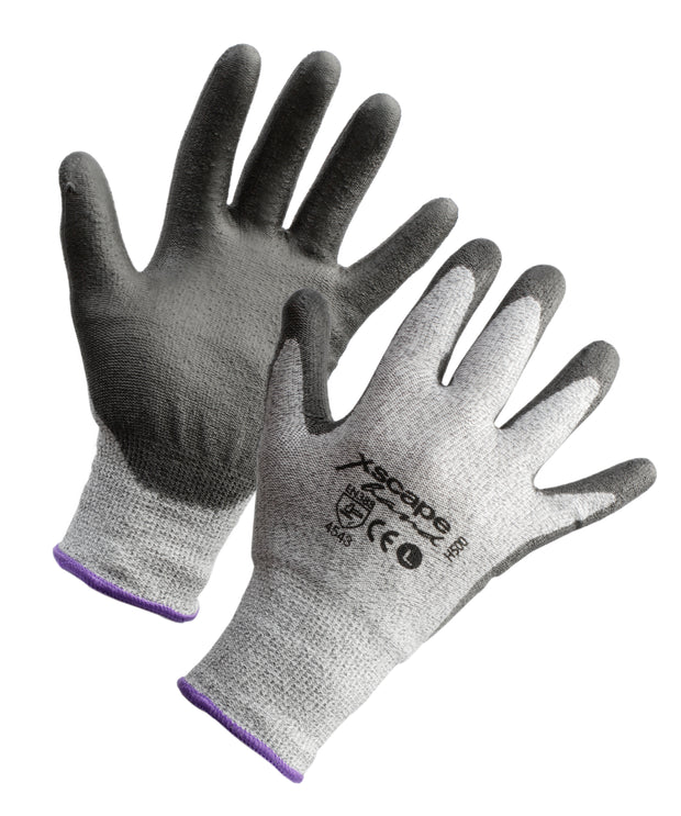 Xscape Cut resistant Glove Level 5 PU coated
